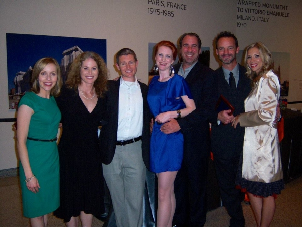 Jill Townsend, Victoria Strong, David McBean, Jill Van Velzer, David Hyde Grant, Randall Dodge, and Brenda Hogan Dodge
